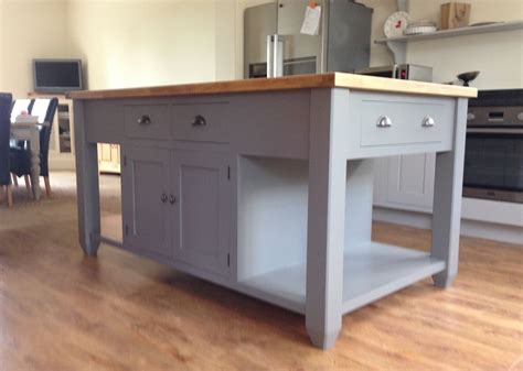 kitchen island units uk painted free standing kitchen island unit ebay