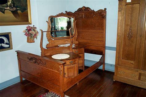 Bedroom Furniture For Sale Birmingham by Three Solid Oak Bedroom Set For Sale Antiques