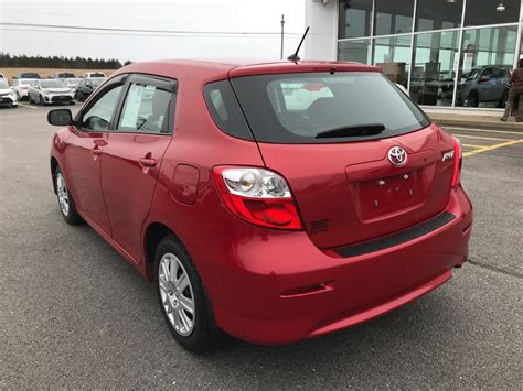 2013 Toyota Matrix by Used 2013 Toyota Matrix Hatchback In Yarmouth Used
