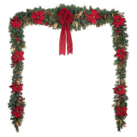 home accents holiday 17 ft unlit gold glitter cedar and