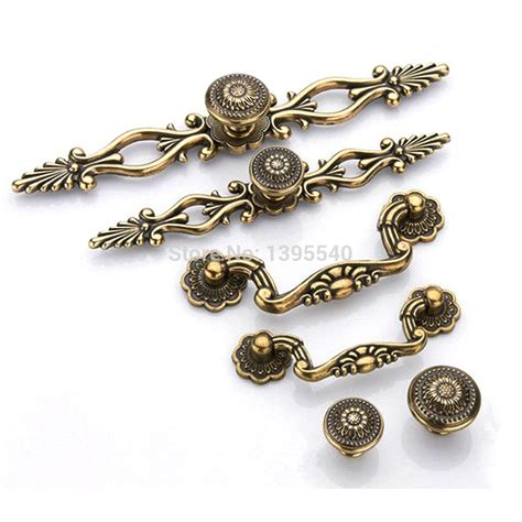 antique cabinet hardware knobs new 96mm antique cabinet kitchen handles knobs euro style