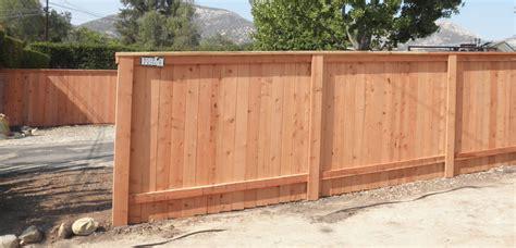 cedar fence wood fencing bob 39 s fence of ventura and santa barbara