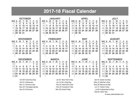 fiscal year quarters template printable templates