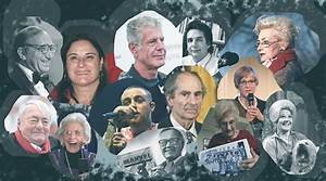 Some of the inspiring Jews we lost in 2018 - Jewish ...