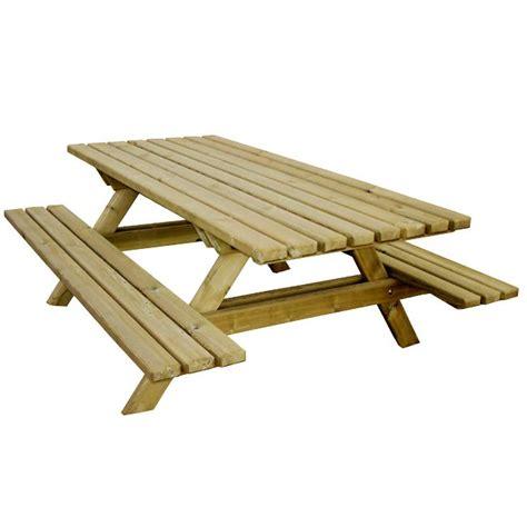 table en bois de a vendre table pique nique ext 233 rieure bois autoclave