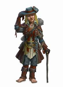 Male Halfling Bard or Rogue - Pathfinder PFRPG DND D&D 3.5 ...