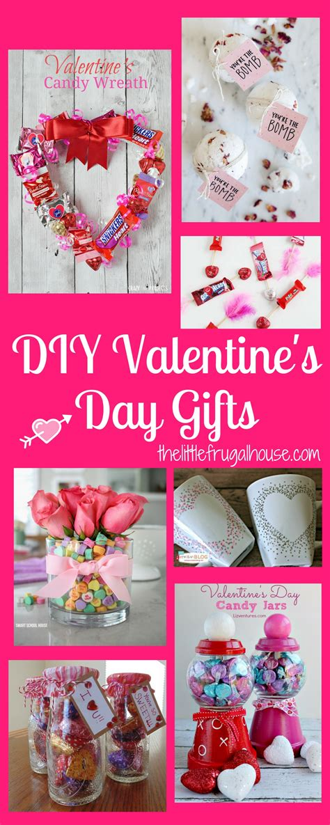 Diy Valentine's Day Gifts  The Little Frugal House