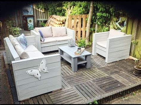 patio furniture ideas  pallets youtube