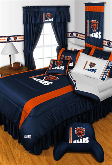 Bedroom Sets In Chicago by Nfl Chicago Bears Bedding And Room Decorations Modern