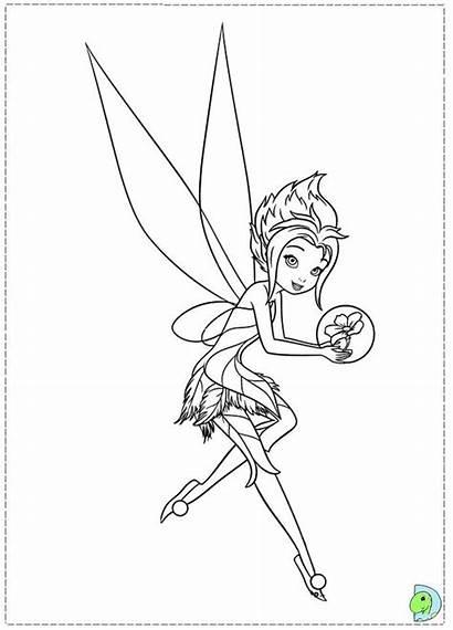Coloring Tinkerbell Wings Secret Periwinkle Fairy Bell