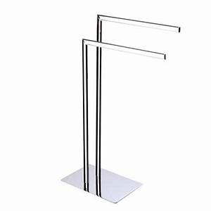 Porte Serviette Pas Cher : porte serviette salle de bain pas cher 1 amazon fr ~ Dailycaller-alerts.com Idées de Décoration