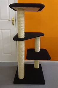 Luxury Large Cat Tree Furniture With Platforms Made In The