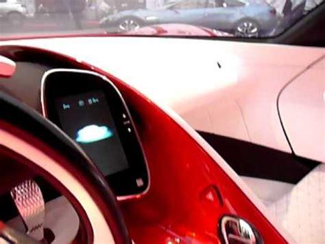 renault dezir concept interior concept cars interior renault dezir at festival auto 2011