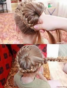 Coiffure Facile Pour Petite Fille : photo coiffure fille ~ Nature-et-papiers.com Idées de Décoration