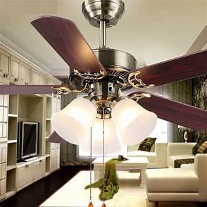 Hot new european household fan lights living room lamp
