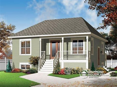 small house plans   sq ft small  bedroom house plans drummond houses treesranchcom