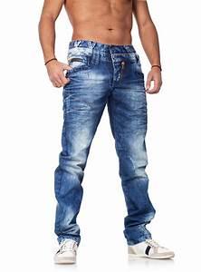 Cipo Baxx Jeans Herren Auf Rechnung : coole herren jeans mit doppelbund von cipo baxx blau ~ Themetempest.com Abrechnung