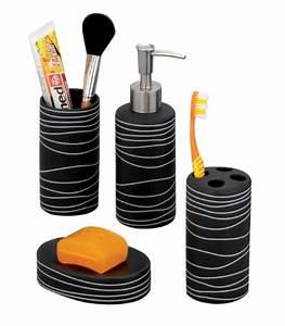 Bad Accessoires Set Schwarz : badezimmer set schwarz bestseller shop f r m bel und einrichtungen ~ Bigdaddyawards.com Haus und Dekorationen