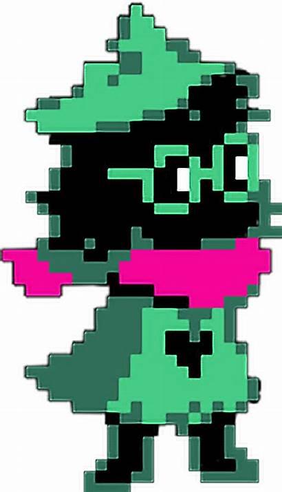 Deltarune Ralsei Pixels Picsart