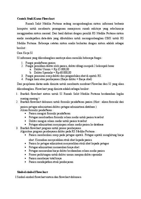 (DOC) Contoh Studi Kasus Flowchart | Sansan Simpey