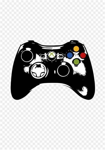 Xbox Controller Control Clip Clipart Console Svg