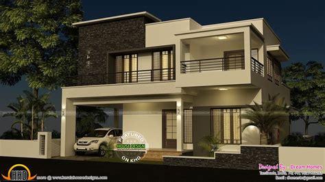 bedroom modern house  plan kerala house design