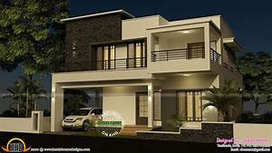 house elevation flat roof real estate pinterest With 4 bedroom bouses and interior