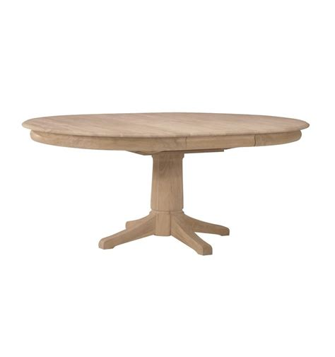72 pedestal dining table 54x54 72 inch butterfly dining table bare wood 7380