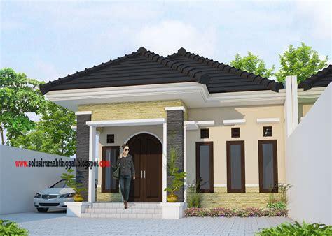 gaya desain rumah  lantai klasik modern