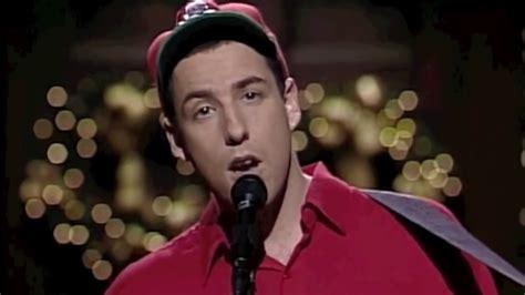 christmas movie that has adam sandler in it the song adam sandler