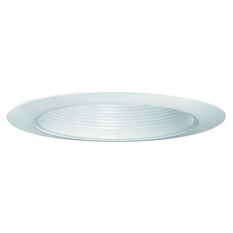 Utilitech White Baffle Recessed Light Trim (fits Housing