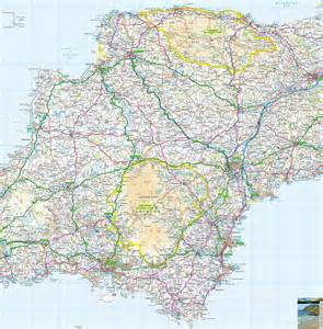 Devon England Map