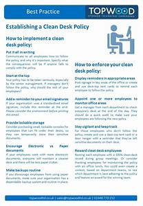 Clean Desk Policy Template Example Clean Desk Policy Hostgarcia