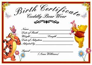 Dog birth certificate template hot girls wallpaper for Boy birth certificate template