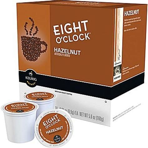 Eight o'clock is my favorite brand of all. Eight O'Clock Hazelnut Regular Coffee Keurig K-Cups 18 Count Pack $DAILY DEALS$   eBay