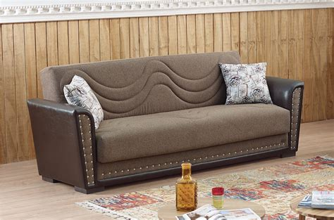 Best Sofa Toronto by Toronto Brown Fabric Sofa Bed By Empire Furniture Usa