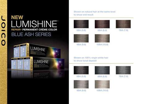 Joico Lumishine Blue Ash Series.