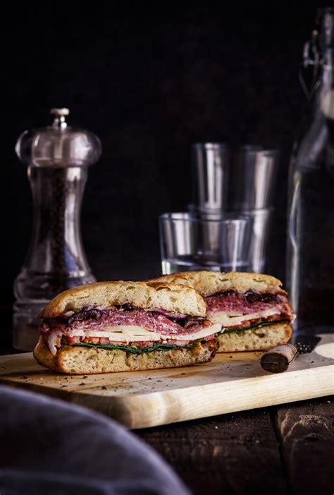 famous  orleans easy muffuletta sandwich recipe