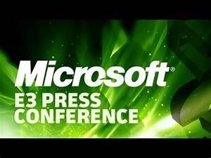 Microsoft E3 2012 Press Conference - YouTube