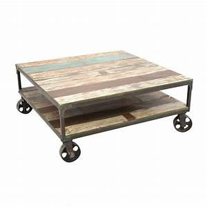 Table Basse A Roulette : tendance atelier table basse roulettes butterfly ~ Teatrodelosmanantiales.com Idées de Décoration
