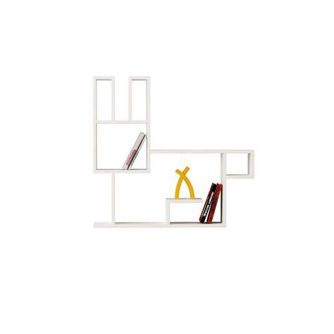 Mensole Da Muro In Legno by Bunny Mensola Design A Muro In Legno Per Cameretta Bambini
