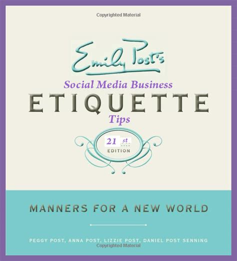 social etiquette social media for business etiquette tips for building relationships