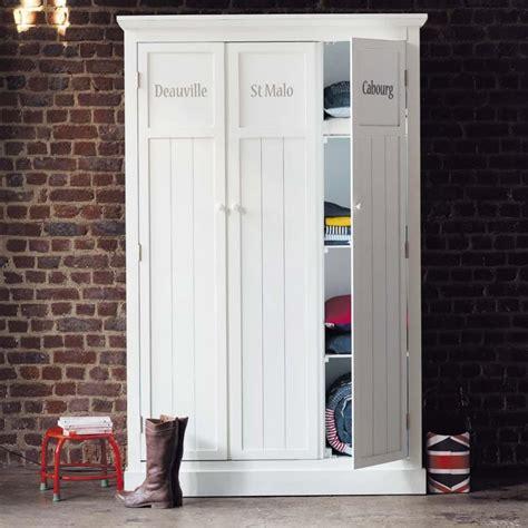 Guardaroba Bianco by Guardaroba Bianco In Legno L 125 Cm Newport Maisons Du Monde