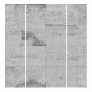 Schiebegardinen 4er Set : schiebegardinen betonplatten 4er set kaufen home24 ~ Watch28wear.com Haus und Dekorationen