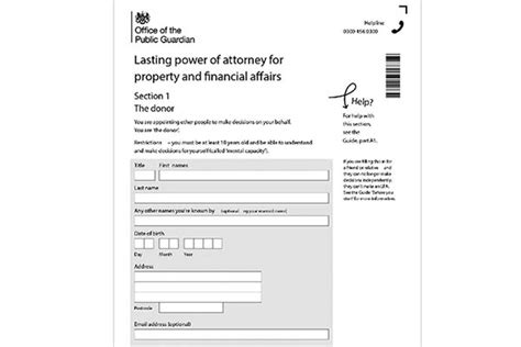 Which Lasting Power of Attorney Forms? | Lawble
