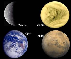 Inner Planets - Pics about space