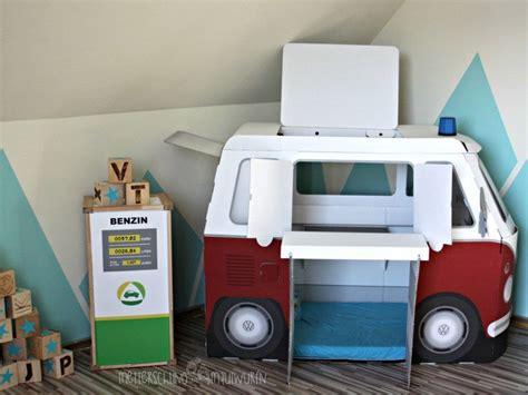 Kinderzimmer Junge Retro by Papp Bulli Retro Autobett Kinderzimmer Selbermachen