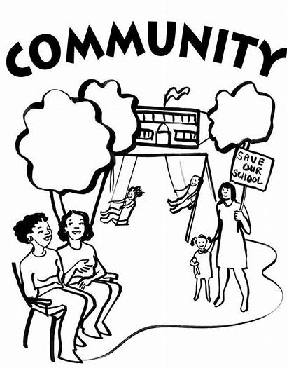 Community Coloring Pages Justice Social Colouring Helpers