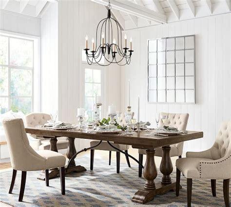 armonk  arm indooroutdoor chandelier dining room table