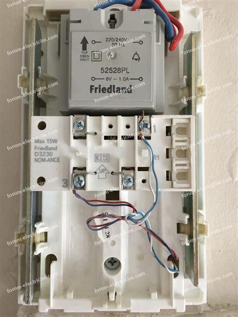 forum 201 lectricit 233 bricovid 233 o branchement carillon friedland sur installation nest hello